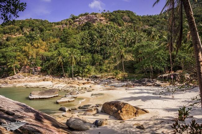 пляжи остров Панган