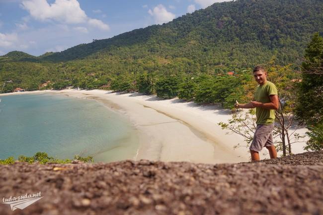 лучший пляж на Пангане