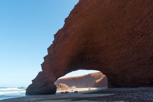 Пляж Легзира Марокко