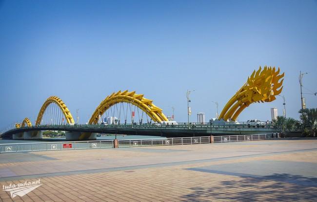 Мост Дракона Дананг