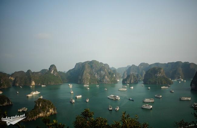 Курорты Вьетнама - бухта Халонг