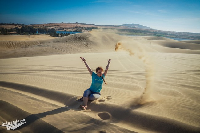 Песчаные дюны около Муйне