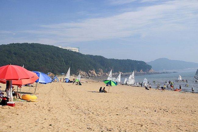 Инчхон пляж