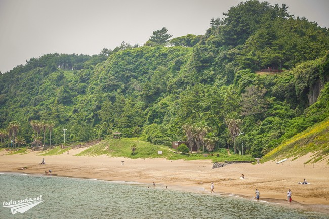 Пляж Jungmun Чеджу