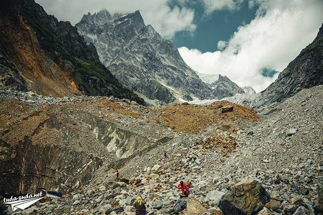 Ледник Чалаади фото