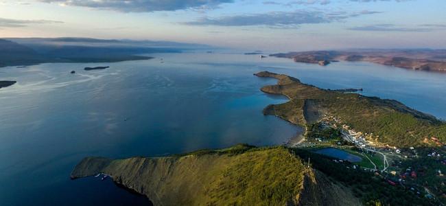 Малое море Байкал карта