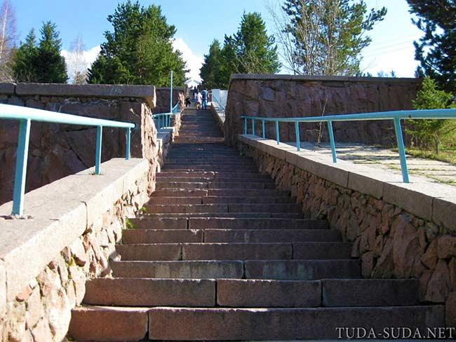 Медео, лестница
