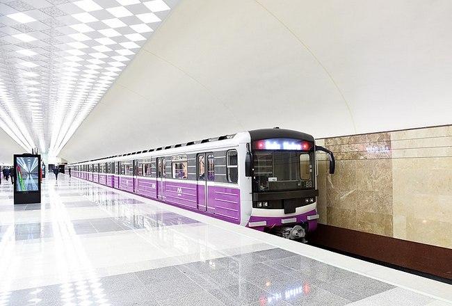 метро Баку фото