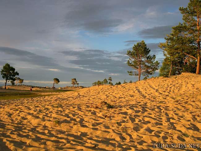 Пляжи на Байкале