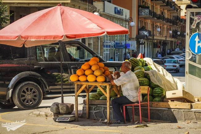 фрукты Азербайджан