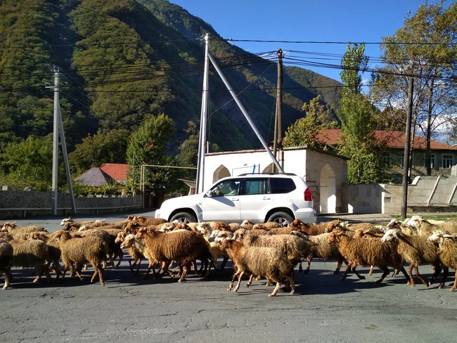 Село Илису Азербайджан