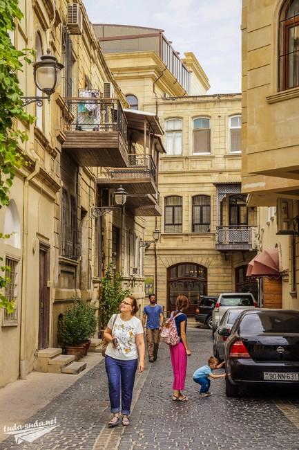Старый город Баку фото