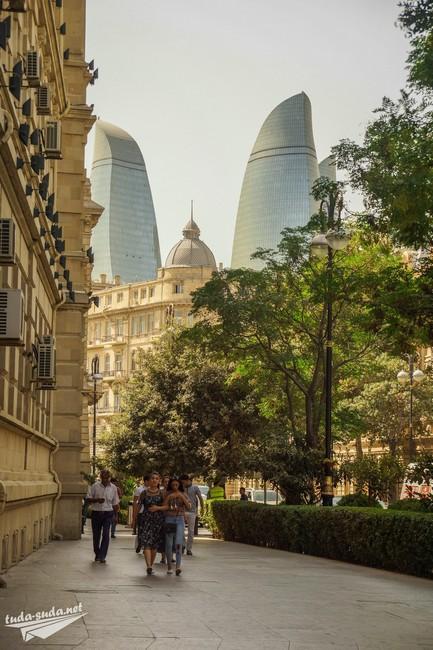 Баку центр фото
