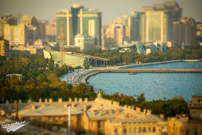 Баку набережная фото
