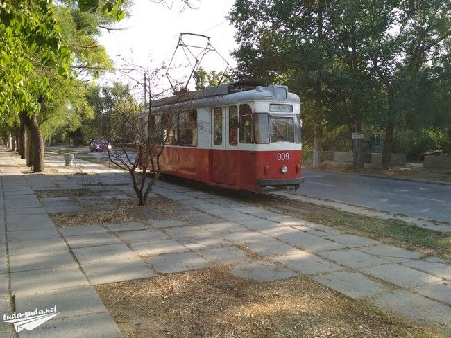 Трамвай Евпатория