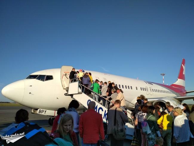 самолет в Крым
