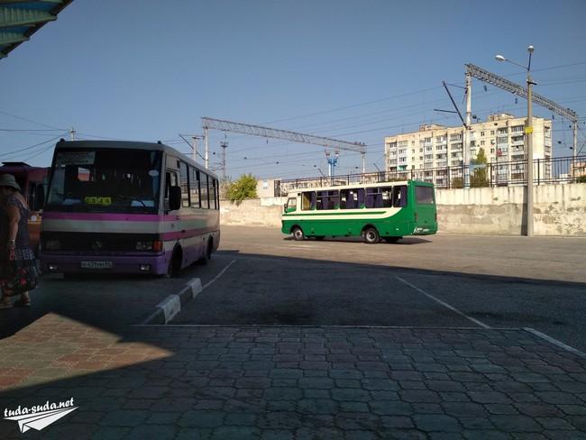 транспорт Крым