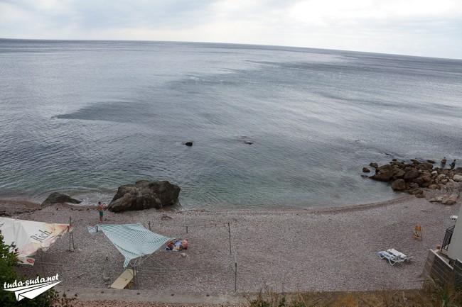Форос пляж
