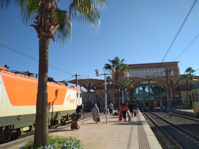 вокзал марракеш марокко