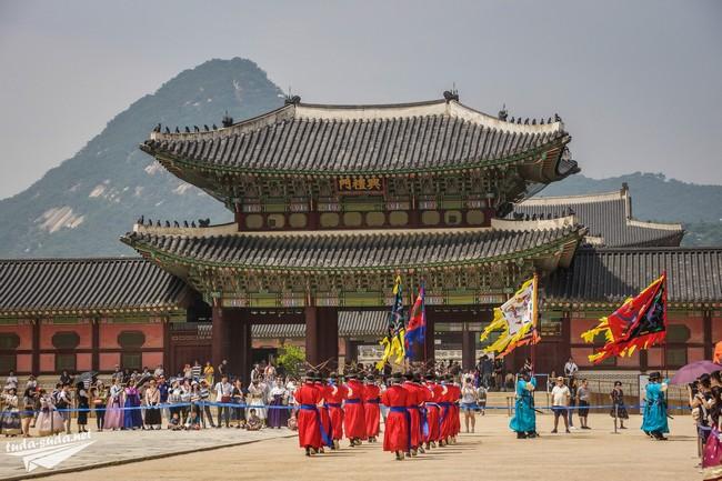 Дворец Кенбоккун Сеул