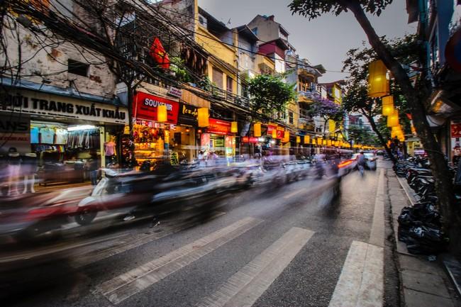 уличное движение вьетнам
