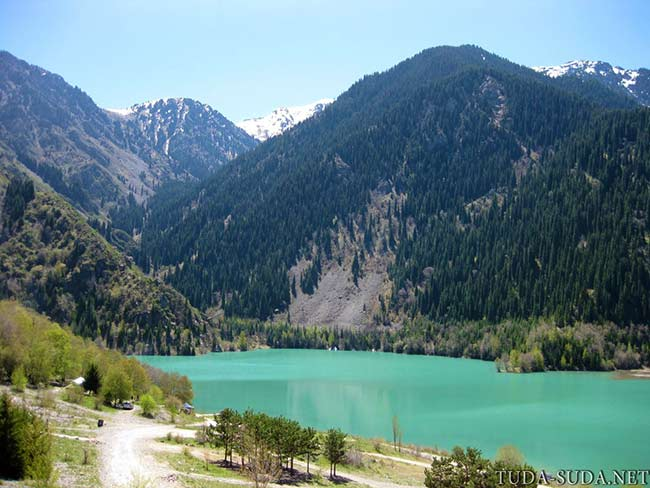 Озеро Иссык, Казахстан