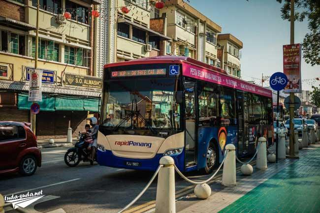 Автобусы на Пенанге