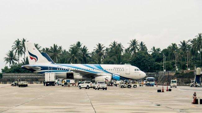 Самолет Bangkok Air