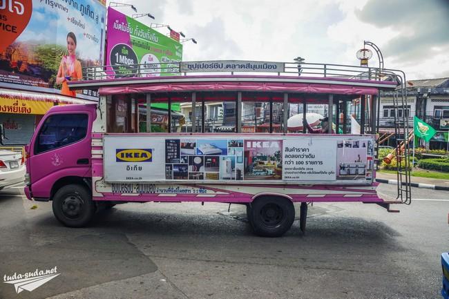 автобусы Пхукет