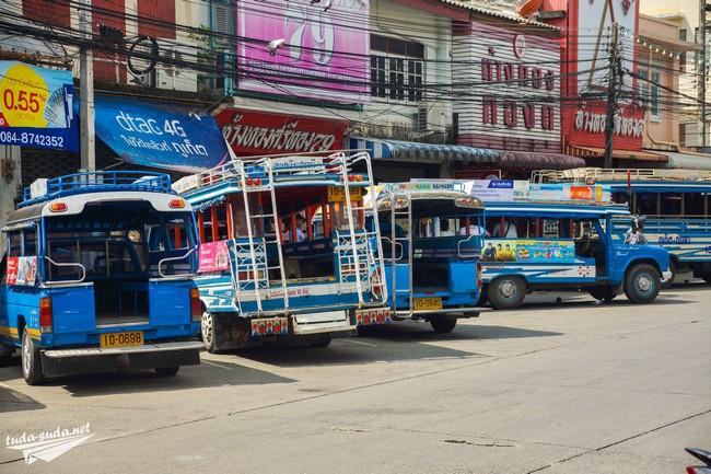 songtaew phuket