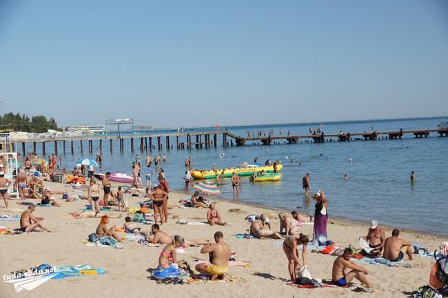центральный пляж Евпатории
