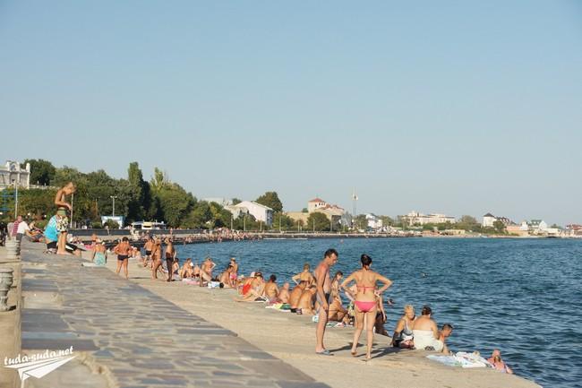 пляжи Евпатории отзывы