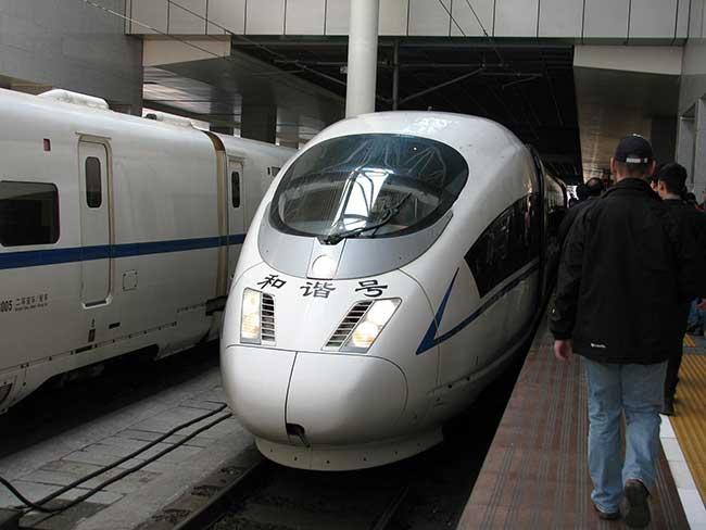 Китайские поезда