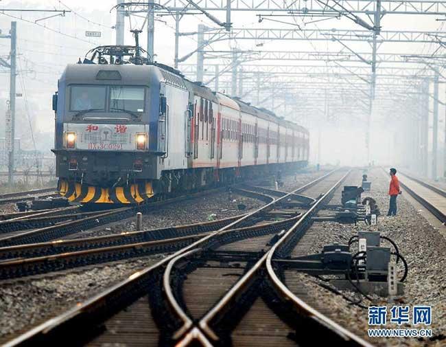 На поезде по Китаю