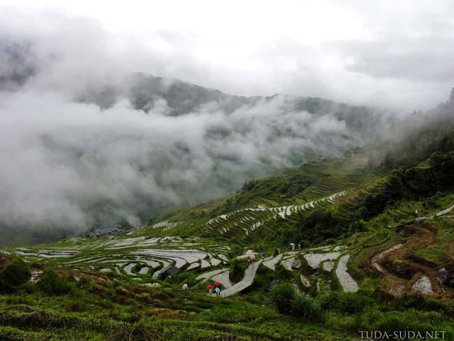 Рисовые террасы Китай