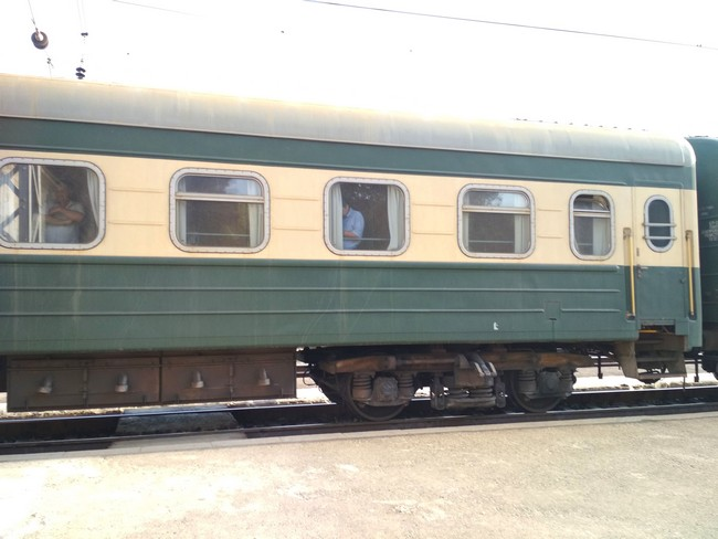 Поезд Баку-Шеки