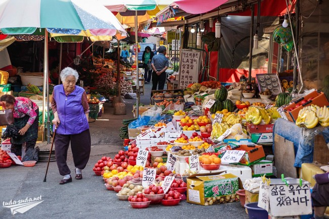 рынок Южная Корея