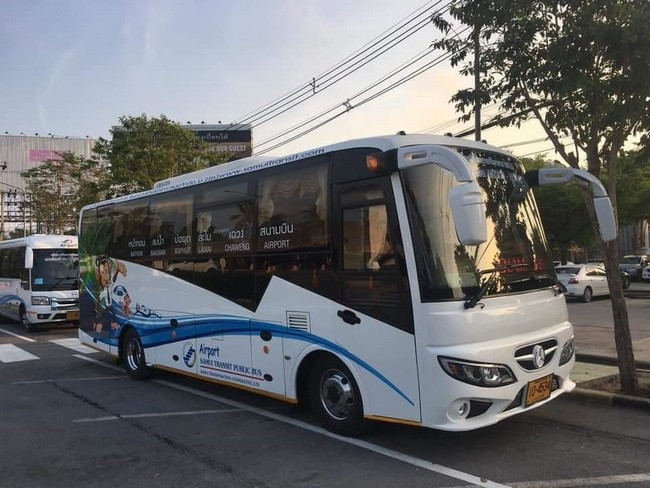 Новые автобусы на Самуи