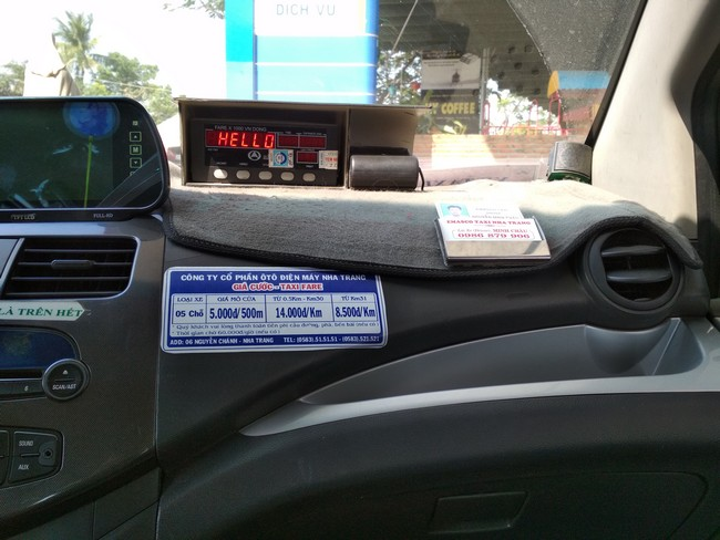 такси в нячанге цены