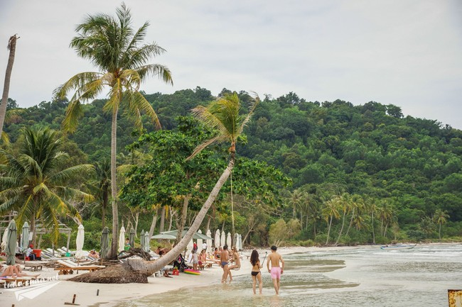 Пляж Бай Сао на Фукуоке (Вьетнам)