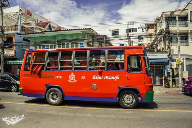 местный автобус Таиланд