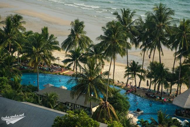 Ко Чанг отели с бассейном на пляже