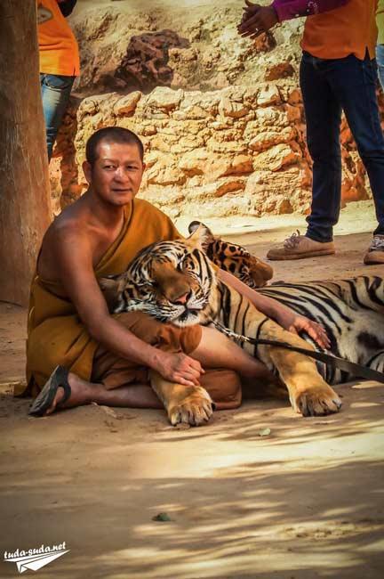 Тигриный монастырь Таиланд