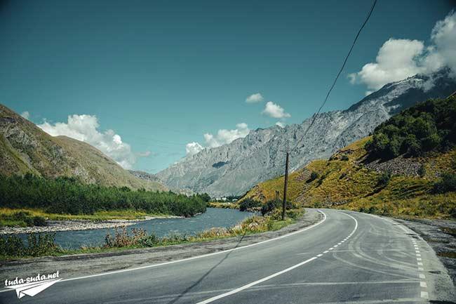 Военно-грузинская дорога фото