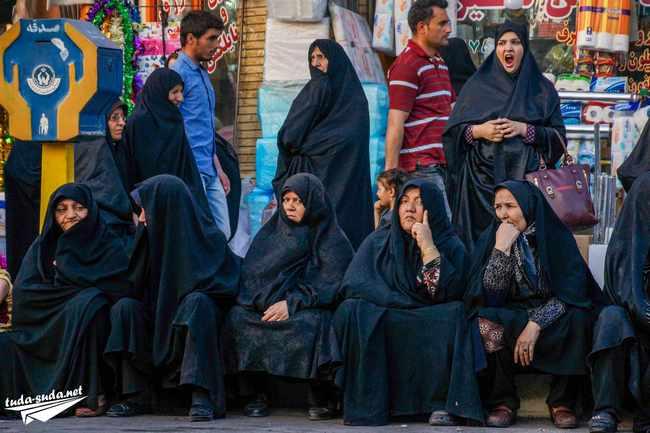 Одежда для женщины в иране