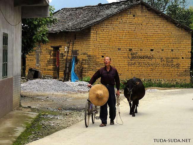 Крестьянин, Китай