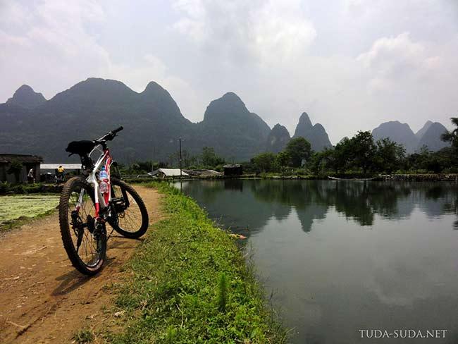 Велосипеды в Яншо