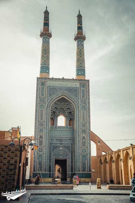 Masjed-e Jameh Yazd Iran