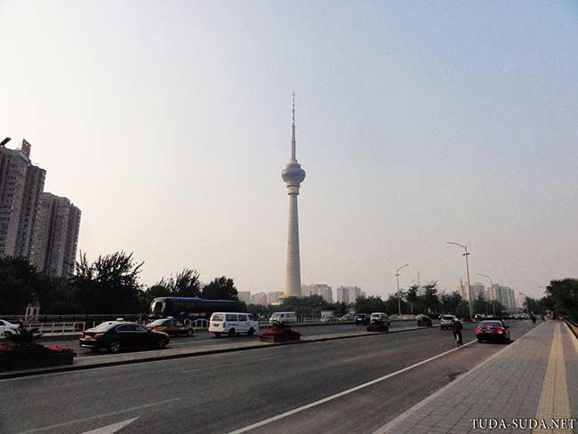 Телебашня Китай фото