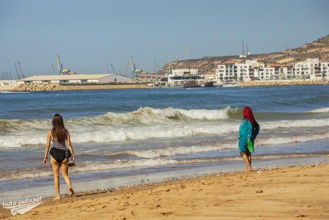 агадир пляжный отдых